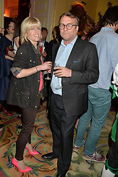 RACHEL JOHNSON and her husband IVO DAWNAY at the Tatler Best of British party in association with Jaegar held at The Ritz, Piccadilly, London on 28th April 2015.