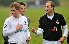 William and Harry Playing Polo June 2011 AA