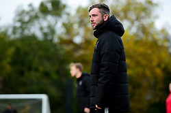 General views as Carla Humphrey, Olivia Chance and Kirsten Reilly attend the Robins Foundation Kids Football Camp - Ryan Hiscott/JMP - 01/11/2019 - SPORT - South Bristol Sport Centre - Bristol, England - Robins Foundation Kids Football Camp
