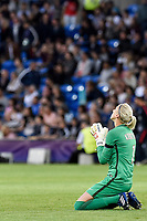 Katarzyna Kiedrzynek of  Paris Saint-Germain looks dejected during the UEFA Women's Champions League Final between Lyon Women and Paris Saint Germain Women at the Cardiff City Stadium, Cardiff, Wales on 1 June 2017. Photo by Giuseppe Maffia.<br /> <br /> <br /> Giuseppe Maffia/UK Sports Pics Ltd/Alterphotos