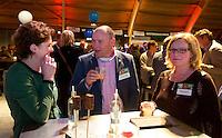 UTRECHT -  Rijk managers Eric van der Zwaluw, Marie-Jose Mooren  , A tribe called Golf, de kracht van de connectie. Nationaal Golf Congres van de NVG 2014 , Nederlandse Vereniging Golfbranche. COPYRIGHT KOEN SUYK