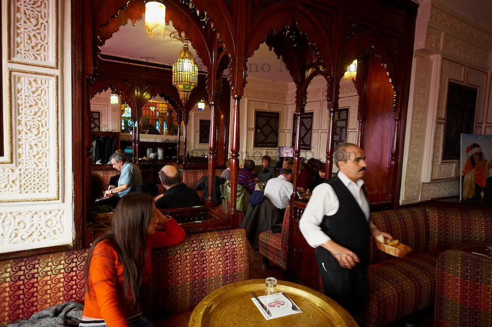 France, Paris (75), la Grande Mosquée de Paris, le restaurant // France, Paris (75), Mosquee of Paris, the restaurant