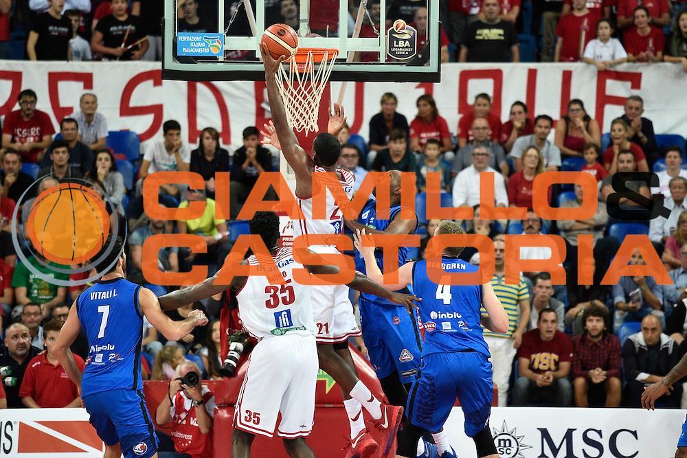 Jones Jerrod<br /> Consultinvest Pesaro - Germani Basket Brescia<br /> BASKET Serie A 2016 <br /> Pesaro 02/10/2016 <br /> FOTO CIAMILLO