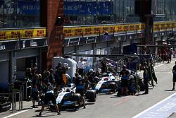 August 31, 2019, Spa-Francorchamps, Belgium: Motorsports: FIA Formula One World Championship 2019, Grand Prix of Belgium, ..#63 George Russell (GBR, ROKiT Williams Racing), #88 Robert Kubica (POL, ROKiT Williams Racing) (Credit Image: © Hoch Zwei via ZUMA Wire)