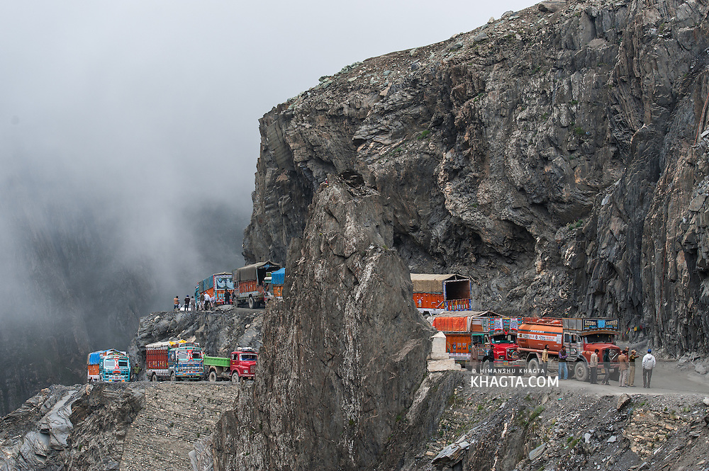 Zoji La Pass, Kashmir, India