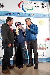 GALLAGHER Kelly Guide: GREEN Ross, 2015 IPCAS Europa CUp, Sella Nevea, Tarvisio, Italy