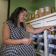 Dr. Chanda Macias, the Owner of the National Holistic Healing Center Medical Marijuana Dispensary in Washington D.C, and also one of the first black women dispensary owners in the nation.Washington, DC, September 21, 2016.