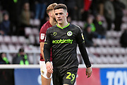 Forest Green Rovers forward (on loan from Celtic) Jack Aitchison (29) during the EFL Sky Bet League 2 match between Northampton Town and Forest Green Rovers at the PTS Academy Stadium, Northampton, England on 14 December 2019.