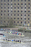 London, Great Britain.<br /> <br /> 2016 Veterans&rsquo; Head of the River Race, Reverse Championship Course Mortlake to Putney. River Thames. Sunday  20/03/2016<br /> <br /> [Mandatory Credit: Peter SPURRIER;Intersport images]
