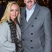 NLD/Amsterdam/20131219 - Premiere Kerstcircus 2013 Carre, Robert Ronday en partner Judith Graus