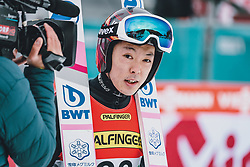 16.02.2020, Kulm, Bad Mitterndorf, AUT, FIS Ski Flug Weltcup, Kulm, Herren, im Bild Junshiro Kobayashi (JPN) // Junshiro Kobayashi of Japan during the men's FIS Ski Flying World Cup at the Kulm in Bad Mitterndorf, Austria on 2020/02/16. EXPA Pictures © 2020, PhotoCredit: EXPA/ JFK