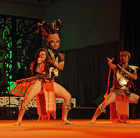 Gawai celebrations at the tourist village and long house at the Sarawak Cultural Village