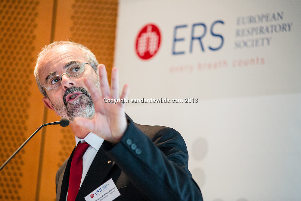 20131113 ERS European Respiratory Society conference European Parliament