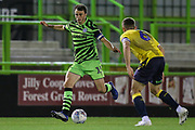 Forest Green Rovers James Morton(15), on loan from Bristol City on the ball during the Leasing.com EFL Trophy match between Forest Green Rovers and Coventry City at the New Lawn, Forest Green, United Kingdom on 8 October 2019.