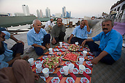 Dubai Creek, Bur Dubai. Waiting for the end of Ramadan.