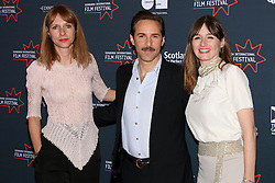 © Licensed to London News Pictures. Edinburgh Cineworld. Edinburgh International Film Festival, Dolly_Wells_Ewan_McGregor_Wells_Alessandeo_Nivola_Emily_Mortimer,  DOLL&EM,  21/06/2015, Photo Credit: M.Pocwiardowski/LNP