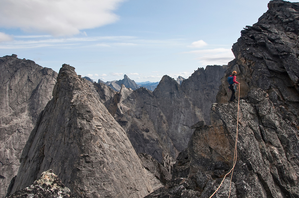 Kate Rutherford, Arrigetch Peaks, Brooks Range, AK