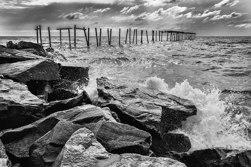 The 59th street pier in Ocean City, NJ on August 20, 2012. (photo / Mat Boyle)