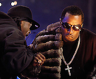 PHILADELPHIA - OCTOBER 28: Rapper P. Diddy performs during Powerhouse: Jay-Z and Friends show October 28, 2005 at the Wachovia Center in Philadelphia, Pennsylvania. (Photo by William Thomas Cain/Getty Images for Universal Records)