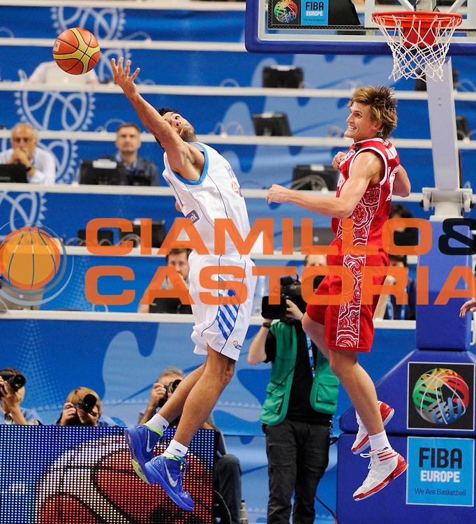 DESCRIZIONE : Vilnius Lithuania Lituania Eurobasket Men 2011 Second Round Grecia Russia Greece Russia<br /> GIOCATORE : Dimitrios Mavroeidis<br /> SQUADRA : Grecia Greece<br /> EVENTO : Eurobasket Men 2011<br /> GARA : Grecia Russia Greece Russia<br /> DATA : 10/09/2011<br /> CATEGORIA : rimbalzo<br /> SPORT : Pallacanestro <br /> AUTORE : Agenzia Ciamillo-Castoria/JF Molliere<br /> Galleria : Eurobasket Men 2011<br /> Fotonotizia : Vilnius Lithuania Lituania Eurobasket Men 2011 Second Round Grecia Russia Greece Russia<br /> Predefinita :