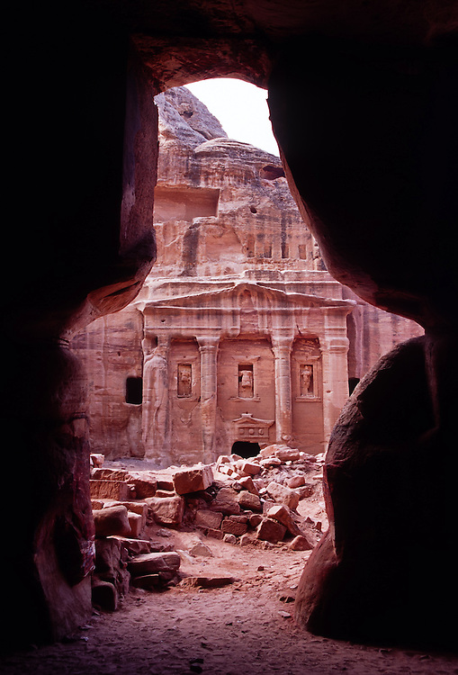 Tomb of the Roman Soldier, Petra, Jordan