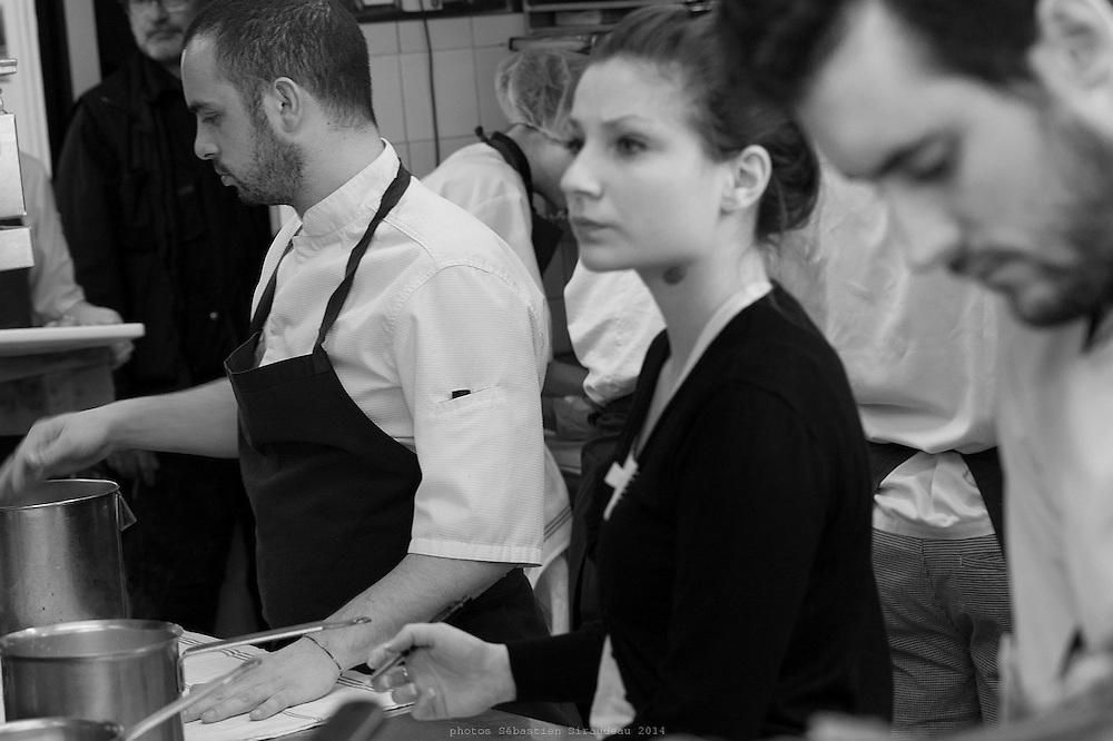 Alain Passard, from garden to restaurant L'Arpege, Paris