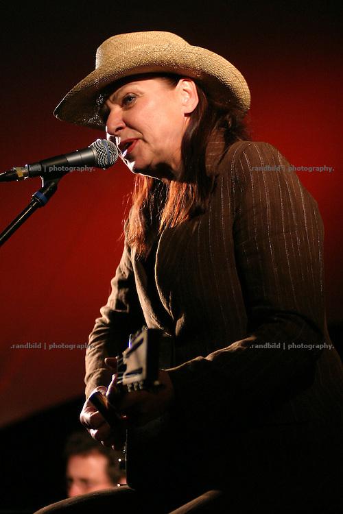 Blueslegende Inga Rumpf bei einem Live-Auftritt im wendlaendischen Muetzingen.