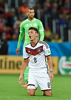 Fotball<br /> Tyskland v Algerie<br /> 30.06.2014<br /> VM 2014<br /> Foto: Witters/Digitalsport<br /> NORWAY ONLY<br /> <br /> Mesut Özil (Deutschland)<br /> Fussball, FIFA WM 2014 in Brasilien, Achtelfinale, Deutschland - Algerien