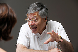 André Sapir, professor of economics at ULB and senior fellow at Bruegel, a Brussels based think tank, speaks during an interview, in Brussels, Wednesday July, 2, 2009. (Photo © Jock Fistick)