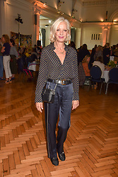 Mary Greenwell at the ASAP VIP lunch (African Solutions To African Problems) held at the RHS Lindley Hall, 80 Vincent Square, London, England. 10 October 2018.