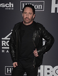 March 30, 2019 - Brooklyn, New York, USA - NEW YORK, NEW YORK - MARCH 29: Trent Reznor of Nine Inch Nails attends the 2019 Rock & Roll Hall Of Fame Induction Ceremony at Barclays Center on March 29, 2019 in New York City. Photo: imageSPACE (Credit Image: © Imagespace via ZUMA Wire)