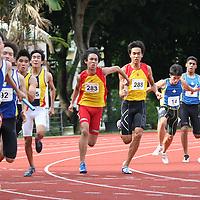 A Division Boys 4x100m Relay