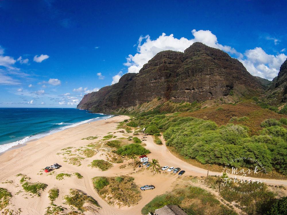 Polihale State Beach, Na Pali Coast, Kauai, Hawaii, USA