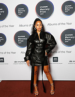 Jorja Smith attends the media room during the 2019 Hyundai Mercury Prize Launch, Eventim Apollo, London, UK, Saturday 06 July 2019<br /> Photo JM Enternational