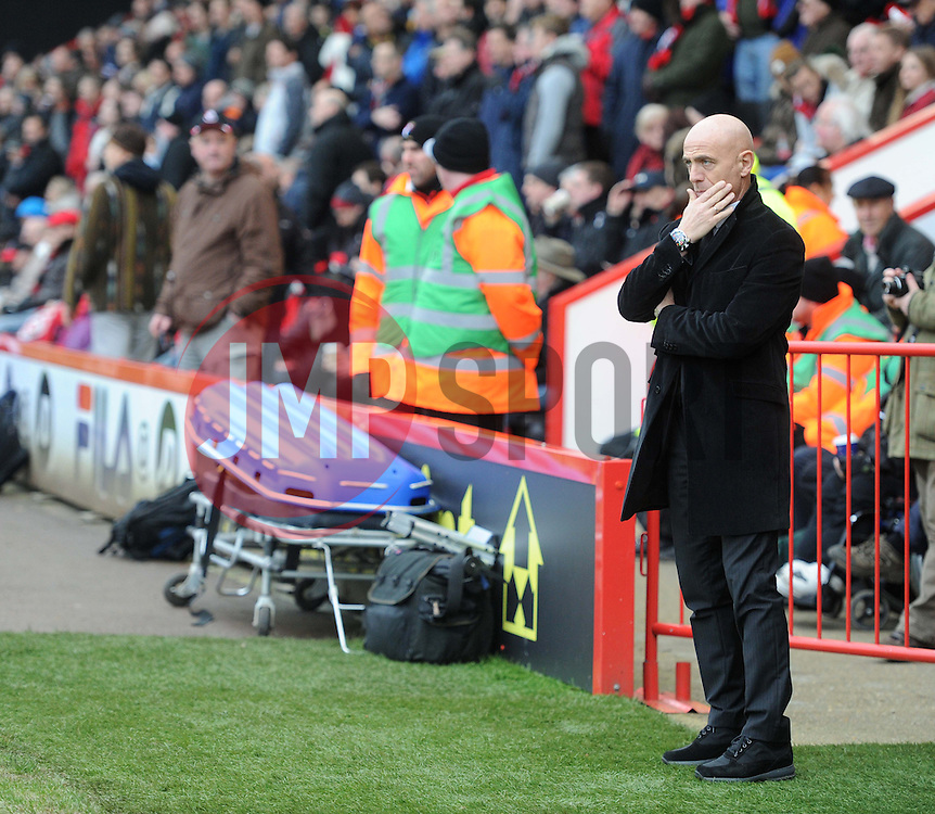 Watford Manager, Giuseppe Sannino - Photo mandatory by-line: Alex James/JMP - Tel: Mobile: 07966 386802 18/01/2014 - SPORT - FOOTBALL - Goldsands Stadium - Bournemouth - Bournemouth v Watford - Sky Bet Championship
