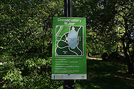 Signage in Central Park: Conservatory Water