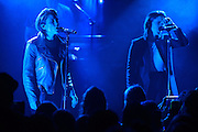 Photos of the band Tegan and Sara performing live at Le Poisson Rouge, NYC on May 9, 2016. © Matthew Eisman/ Getty Images. All Rights Reserved