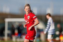 Millie Farrow of Bristol City Women looks on - Mandatory byline: Rogan Thomson/JMP - 14/02/2016 - FOOTBALL - Stoke Gifford Stadium - Bristol, England - Bristol City Women v Queens Park Rangers Ladies - SSE Women's FA Cup Third Round Proper.
