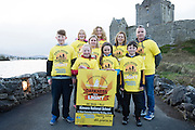 Pieta House, Centre for the Prevention of Self-harm or Suicide will be holding its eighth Darkness into Light charity 5k walk/run this year and for the second time KINVARA is hosting the event.&nbsp; We will be hosting Darkness Into Light on 7th May 2016 while it is still dark at 4.15  and finishing as dawn is breaking at 5.30am approximately.<br /> <br /> The 5 kilometre circuit will commence at the Astro pitch at Kinvara National School. Runners and walkers veer left coming out of Kinvara National School and proceed down the main street. From there the runners and walkers will continue along the N67 in the direction of Dunguaire Castle. Runners and walkers will then turn onto R367(Ardrahan Road) on their right and from there proceed approx. 1 KM and turn left onto Green Road.They will then proceed to rejoin theN67 at the Green Road junction on the northeast of Dunguaire Castle. The participants will proceed back towards Kinvara village along the N67 until returning to the original starting point at the Astro pitch at Kinvara National School.<br /> At the Launch were Sam Heanen, Noleen Heanen, Nicole Heanen, Hilary Sexton Jennifer Mongan, Bronagh O'Driscoll, Claire Shiels Ethan Sexton and Peter Deego.  Photo:Andrew Downes, xposure.