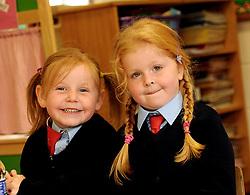 Danni Morrin-Cottrell junior infant Quay School, Westport.<br /> Pic Conor McKeown