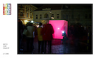 Biela Noc, or White Night, an annual celebration which takes place in the city of Kosice, in the Slovak Republic, featuring artists from across Europe and the world. The displays are on the theme of illumination and light and in 2011 attracted 30,000 visitors to the city.