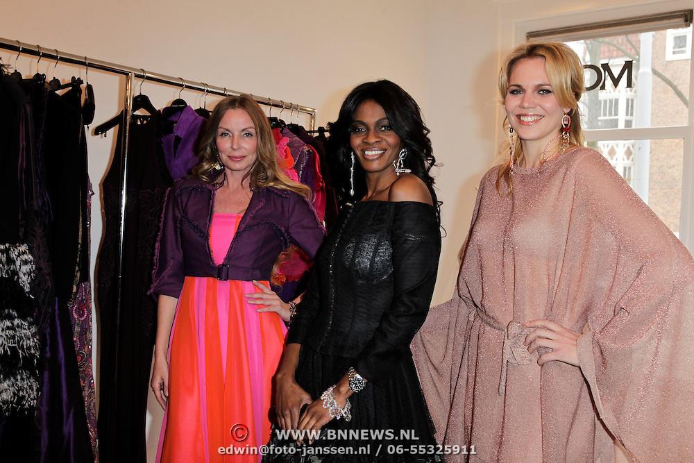 NLD/Amsterdam/20120330 - Nederlandse Hollywood Vrouwen voor de St. Its me, Prinses Inge, Conchita Leeflang, Myrthe Mylius