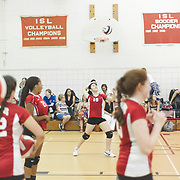 Volleyball (JV) - Action