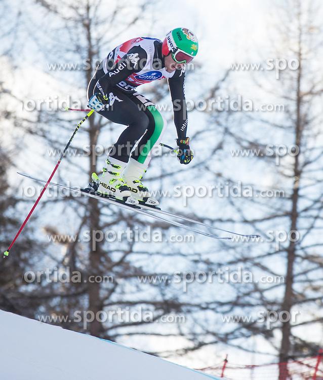 28.12.2013, Stelvio, Bormio, ITA, FIS Ski Weltcup, Bormio, Abfahrt, Herren, 2. Traininglauf, im Bild Mattia Casse (ITA) // Mattia Casse of Italy in action during mens 2nd downhill practice of the Bormio FIS Ski Alpine World Cup at the Stelvio Course in Bormio, Italy on 2012/12/28. EXPA Pictures © 2013, PhotoCredit: EXPA/ Johann Groder