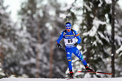 March 9, 2019 - –Stersund, Sweden - 190309 Giuseppe Montello of Italy competes in the Men's 10 KM sprint during the IBU World Championships Biathlon on March 9, 2019 in Östersund..Photo: Petter Arvidson / BILDBYRÃ…N / kod PA / 92252 (Credit Image: © Petter Arvidson/Bildbyran via ZUMA Press)
