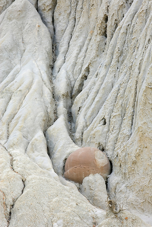 Cannonball concretions, North Unit Theodore Roosevelt National Park North Dakota USA