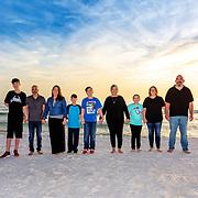 Shah-Potter Family Beach Photos
