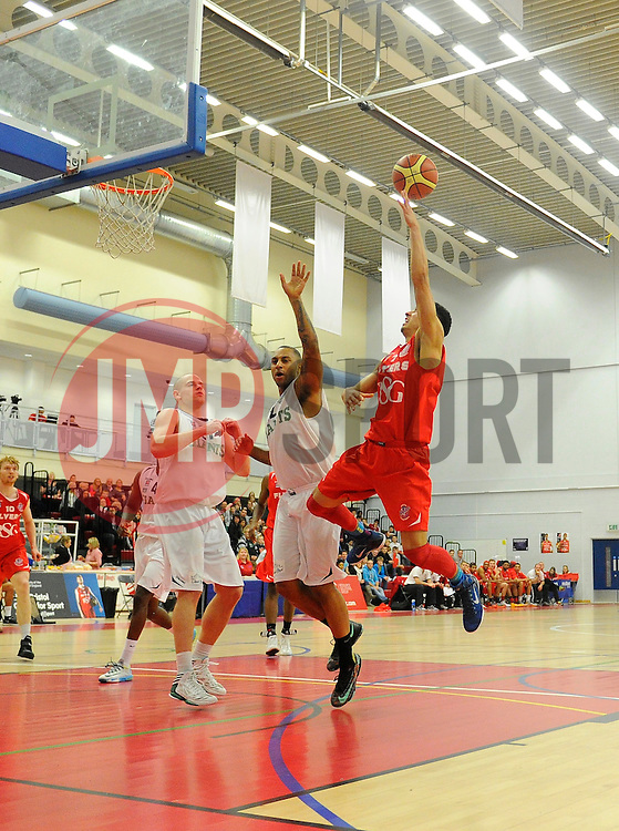 Bristol Flyers' Roy Owen  - Photo mandatory by-line: Joe Meredith/JMP - Mobile: 07966 386802 - 06/12/2014 - SPORT - Basketball - Bristol - SGS Wise Campus - Bristol Flyers v Manchester Giants - British Basketball League