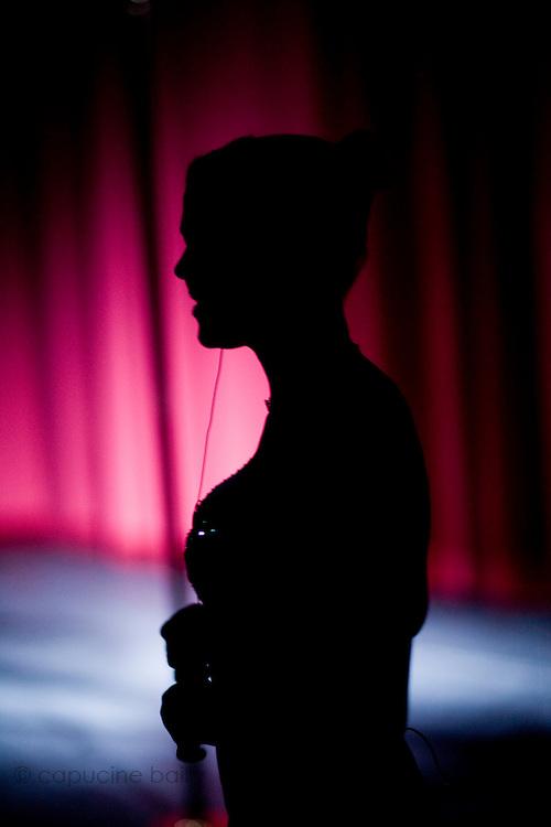 Lundi 14 Septembre 2009. Paris, France..Premiere competition Officielle de Pole Dance en France..20eme Theatre (Paris 20eme)..