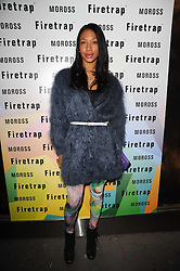 SHANIKA WARREN at a party to celebrate the Firetrap Watches and Kate Moross Collaboration Launch, held at Firetrap, 21 Earlham Street, London, UK on 13th October 2010.